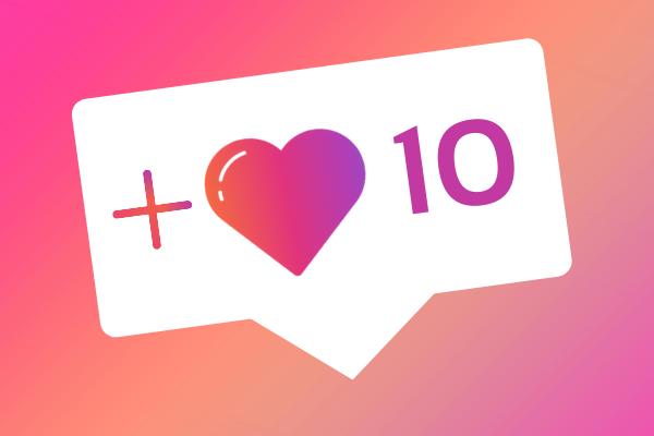 10 IG likes