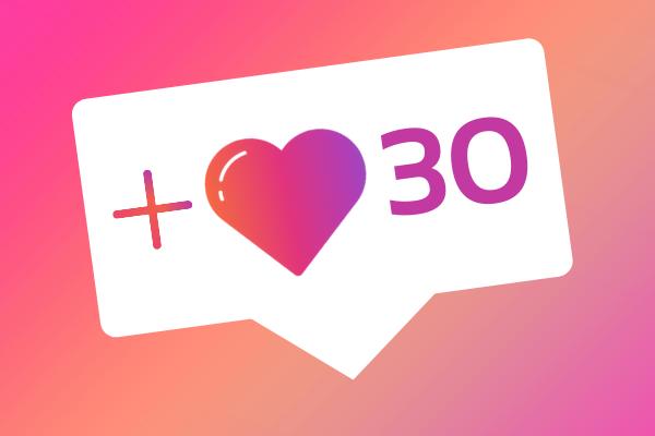 30 IG likes
