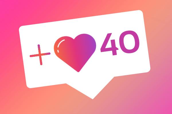 40 IG likes