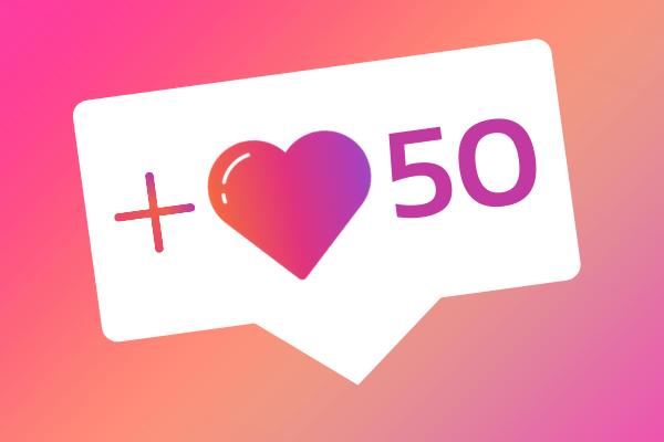 50 IG likes